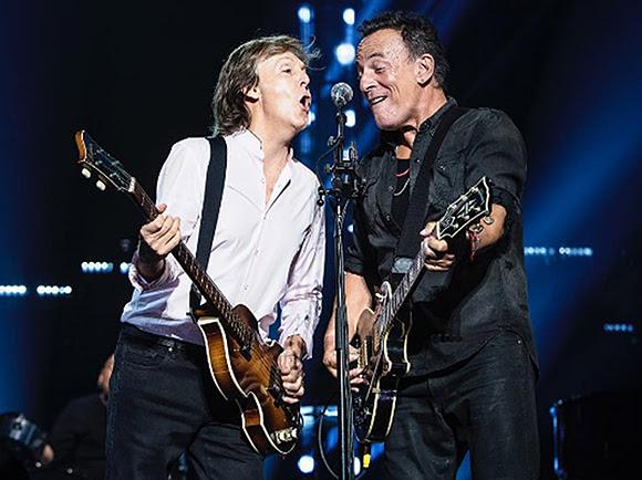 Paul McCartney et Bruce Springsteen au Madison Square Garden