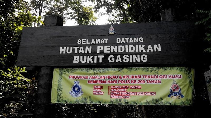 Hiking Bukit Gasing