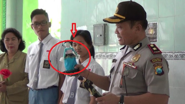 WOW..!! Antisipasi seks bebas, polisi ajak pelajar berbagi di Valentine day