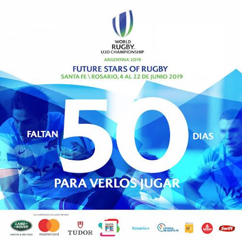 A 50 días del kick off del Mundial Juvenil #WorldRugbyU20