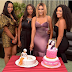 Actress Oge Okoye Celebrates Birthday Dinner With Friends (Photos)
