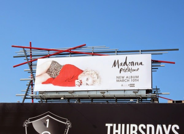 Madonna Rebel Heart album billboard