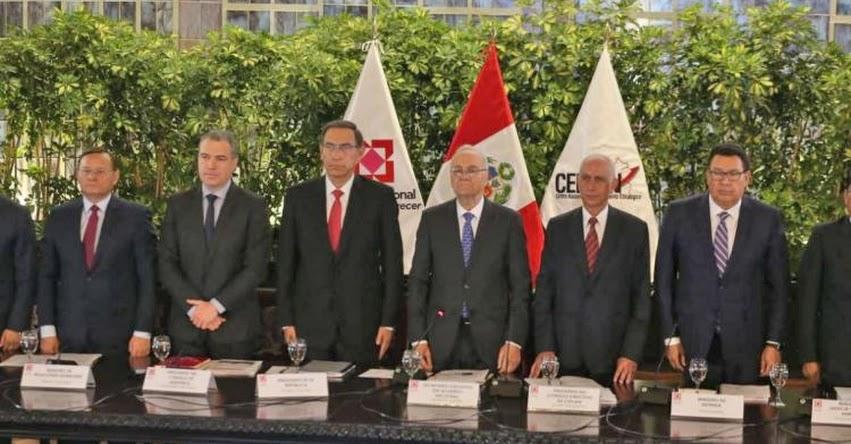 Perú cuenta con Visión al 2050 aprobada en el Acuerdo Nacional