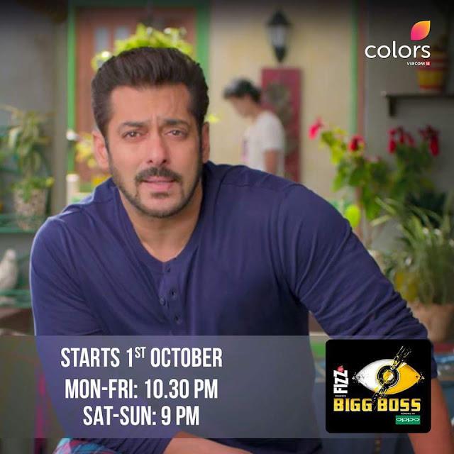 Bigg Boss Season 11' Show on Colors Tv Wiki,Promo,Timing, Host,Contestants List