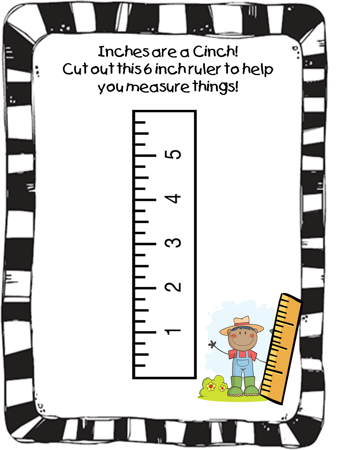 Free Printable Cards 2019: Free Printable Ruler