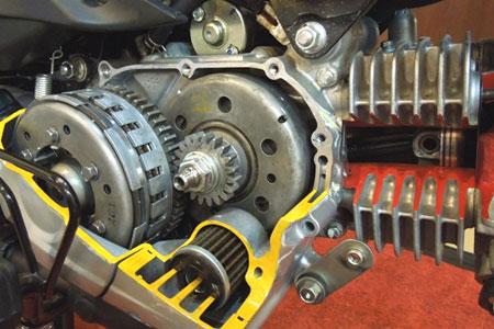 Kiat Memelihara Dapur Pacu Sepeda Motor