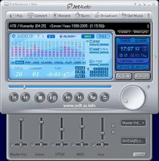 تحميل برنامج اوديو 2014 jetAudio
