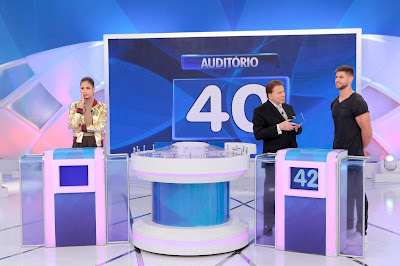 Mari, Silvio e Jonas - Crédito: Lourival Ribeiro/SBT
