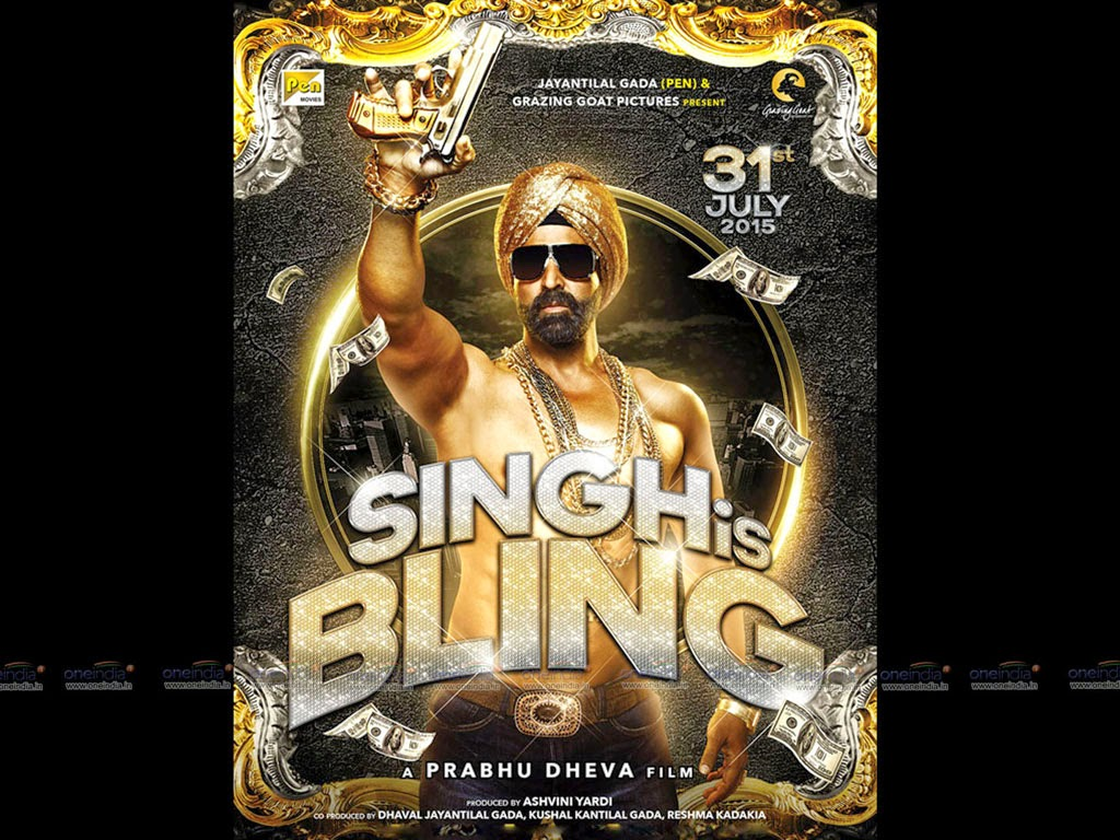 Amy Jackson, Akshay kumar New Hindi movie Songh Is Bling release, star cast, budjet info 2015 Poster