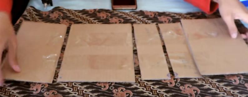 Cara Membuat Kerajinan Tas Kardus Cantik Beserta Gambarnya