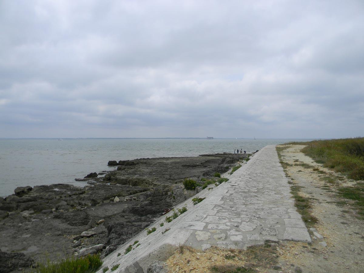 Fort Boyard vu de l'île d'Aix