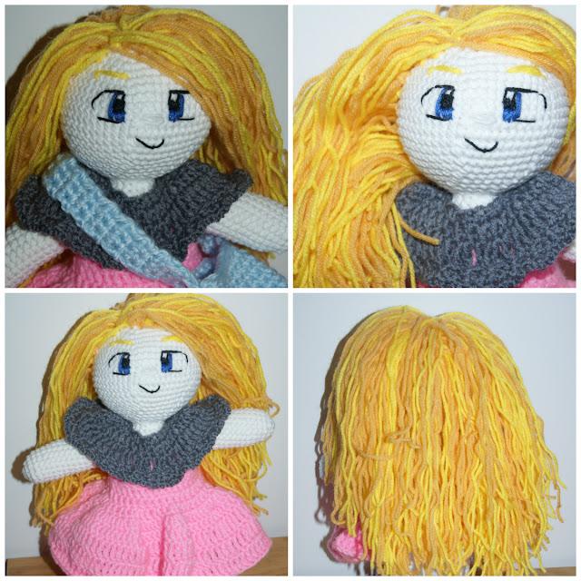 Mała blondyneczk