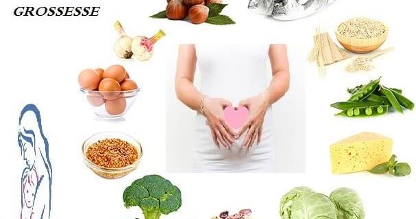 alimentation pour une femme enceinte