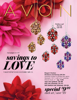 Avon campaign 4 shopping, sales, valentines
