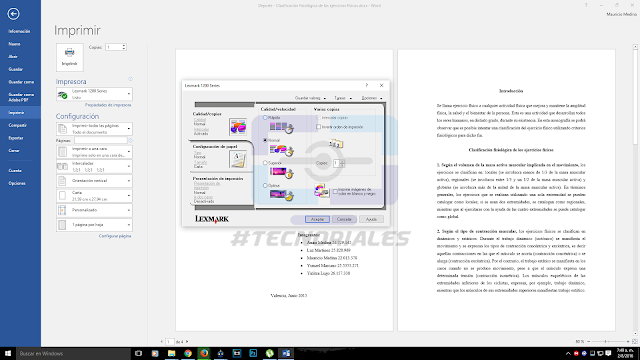 Impresora Lexmark Windows 10