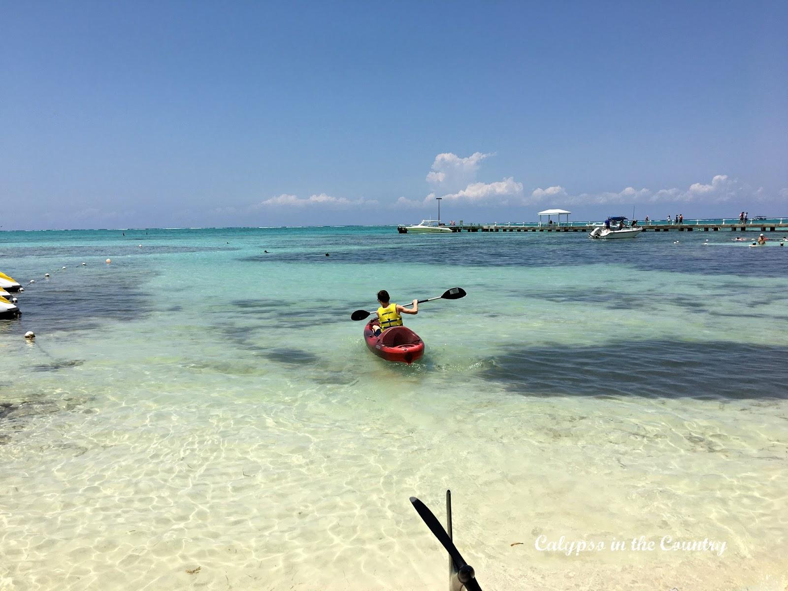 Kayaking Rum Point