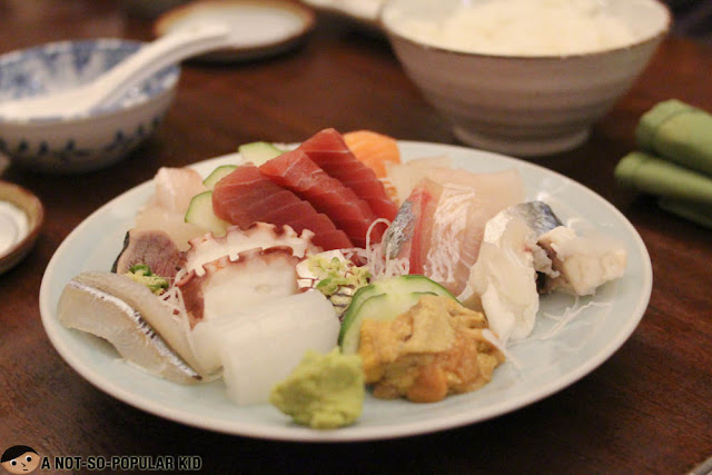 Mixed Sashimi Platter of Tsumura Japanese Restaurant