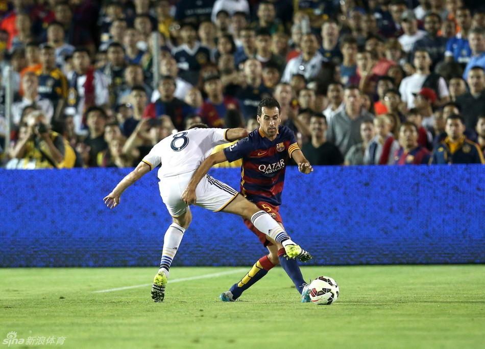 Barcelona 2-1 Los Angeles Galaxy