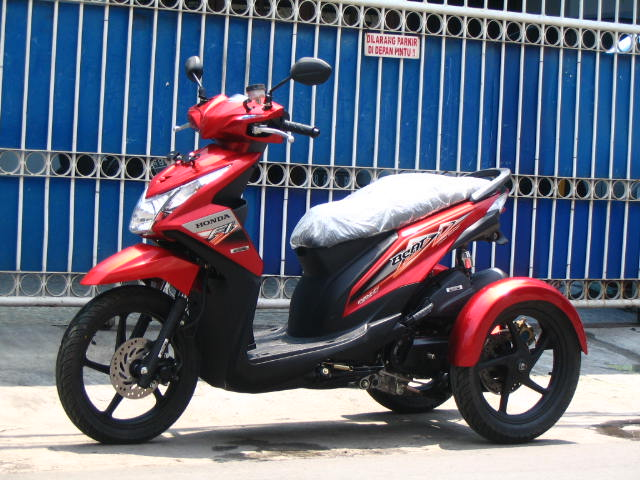 referensi modifikasi motor roda 3