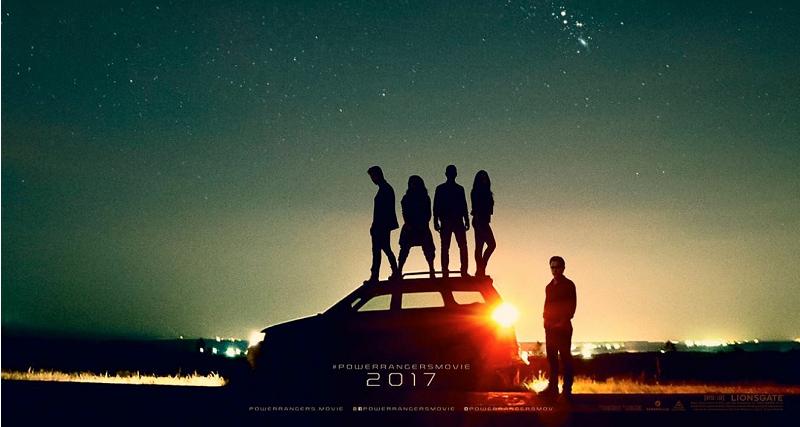 Poster do filme Power Rangers: O Filme