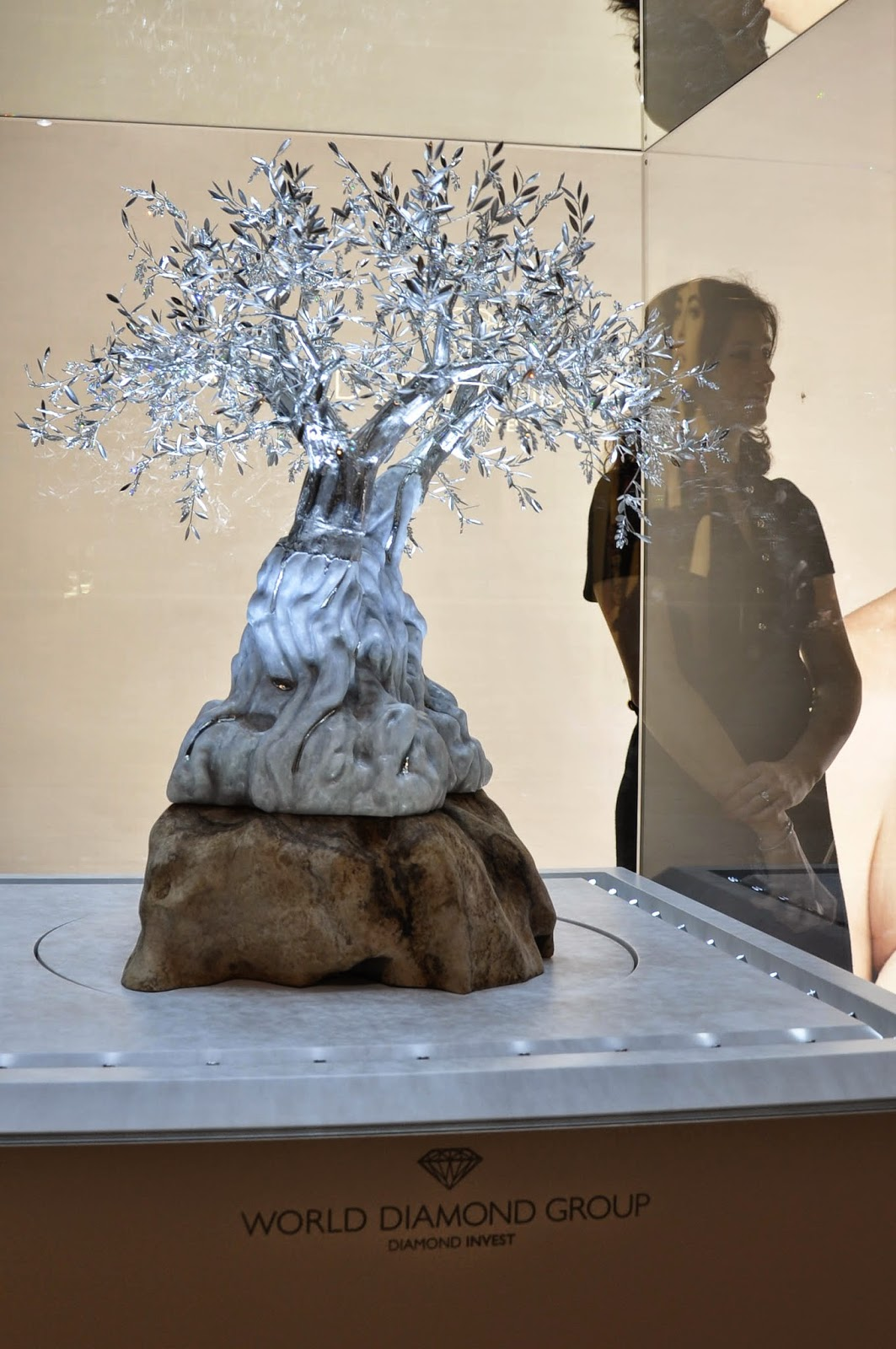 The White Olive Tree by Agatino Capella promoted by the The World Diamond Group