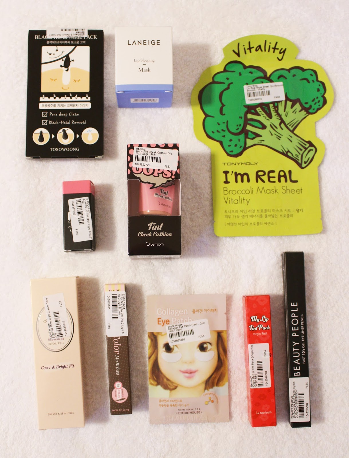 Fantail Flo Berrisom Lip Tint Etude House Eyebrow Review Color My Brow Yesstyle Blog Beauty Box Korean Makeup Oops