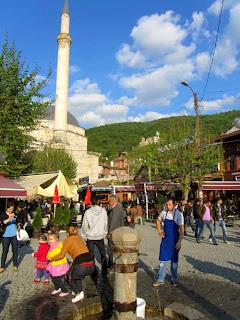Shadervan Square Sinan Pasha Mosque Prizen Kosovo