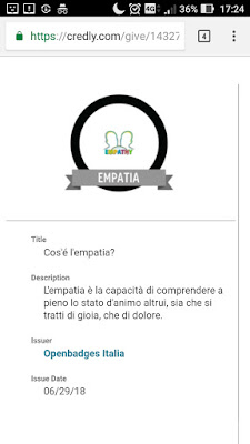 Openbadges empatia
