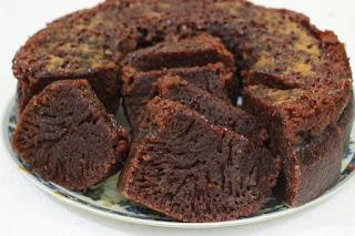 Resep Cake Karamel Sarang Semut Yang Kenyal Meleleh