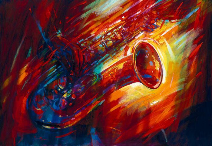 Британский художник. Simon Bull