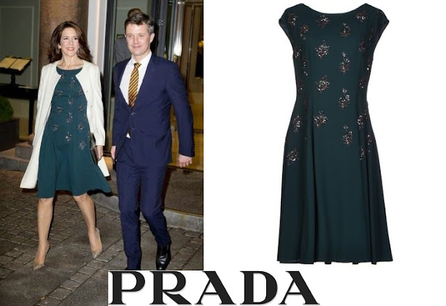 Princess Mary PRADA Knee Length Dress