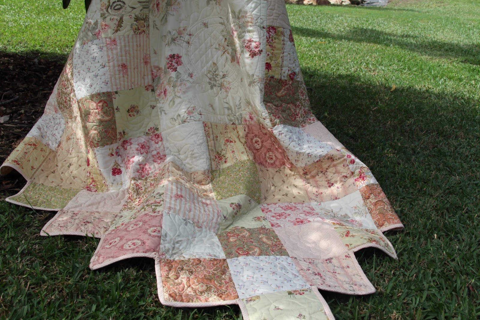 Altogether Patchwork : Vintage Garden Quilt