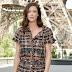 Anna Mouglalis marca presença na Front Row do desfile da Chanel na Semana de Moda de Paris como parte da Alta Costura Outono / Inverno 2017-2018 em Paris, França – 04/07/2017