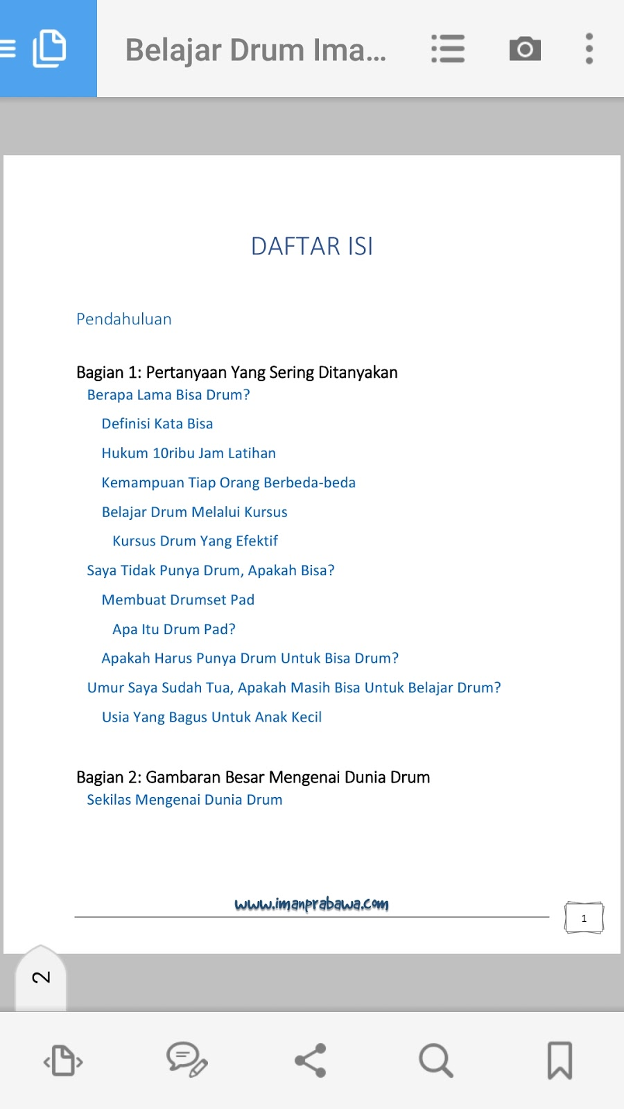 Ebook Iman Prabawa 1