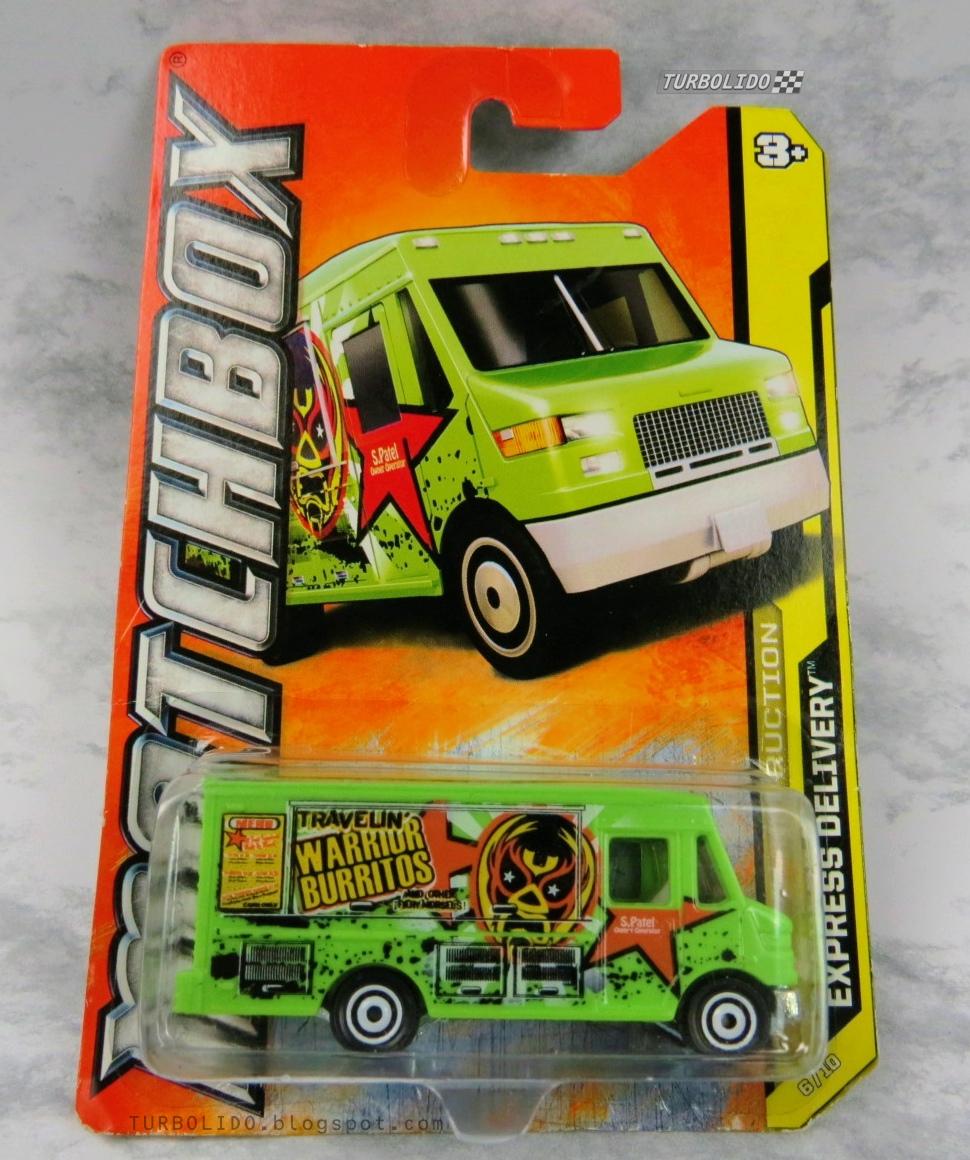 TURBOLIDO Cars: MATCHBOX EXPRESS DELIVERY / Warrior Burritos