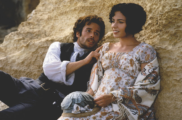 'THE COUNT OF MONTE CRISTO' (2002). Jim Caviezel stars as a man who is wrongly imprisoned for fourteen years in this Dumas adaptation. Text © Rissi JC