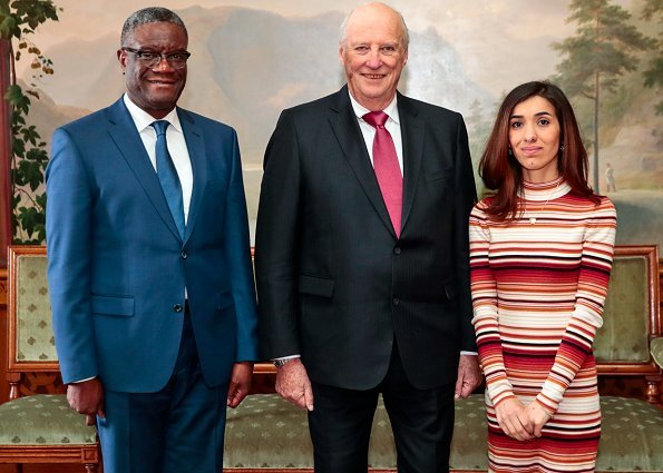 Congolese Doctor Denis Mukwege and Yazidi activist Nadia Murad attended the traditional Save the Children Peace Prize Party