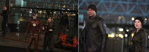 flash john diggle lyla michaels arrow crossover episode picture poster wallpaper image screensaver