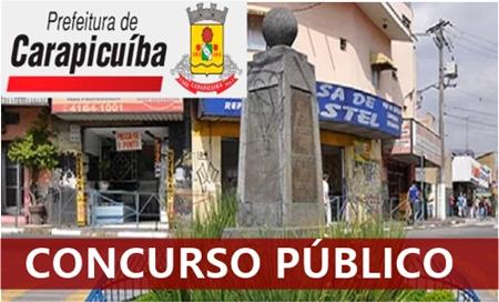 Prefeitura de Carapicuíba concurso