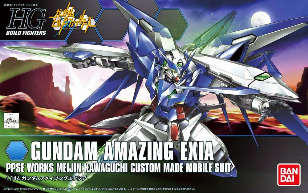 HGBF 1/144 Amazing Exia - Release Info, Box Art and Official Images