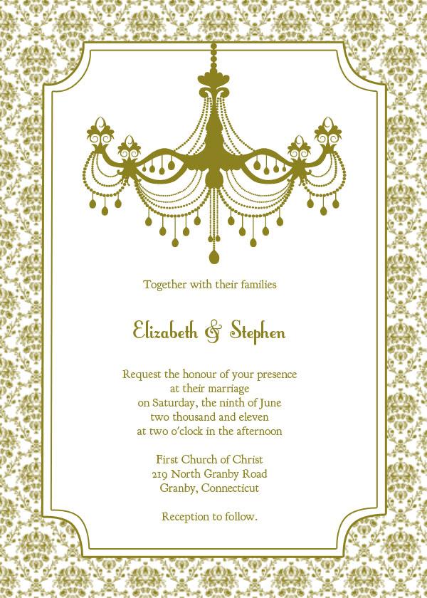 Silver Wedding Invitations free wedding invitation templates - free wedding invitation card templates
