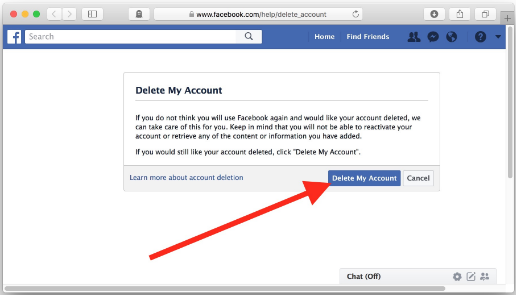 How to Delete Facebook Account Permanently Immediately 2018