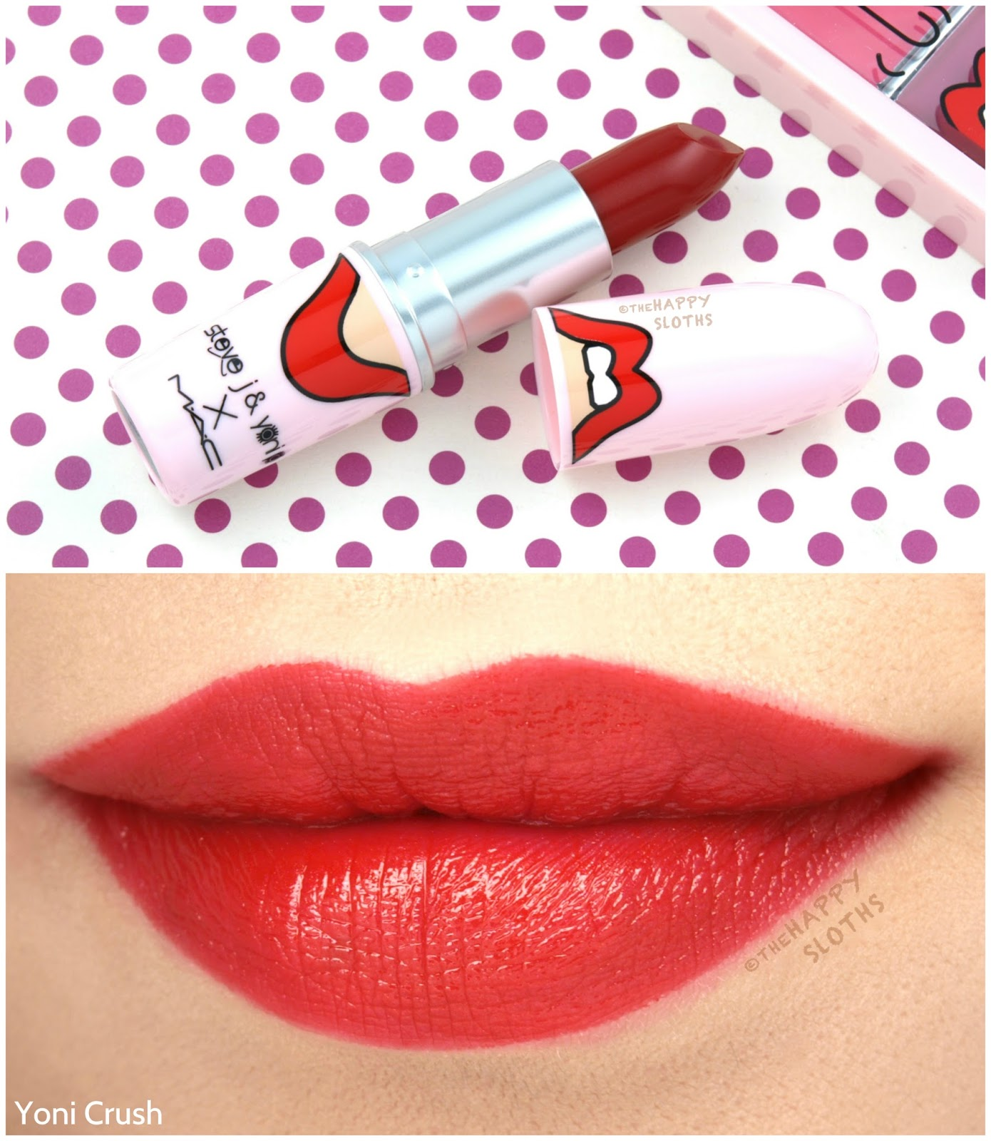 "MAC x Steve J & Yoni P Collection | Lipstick in ""Yoni Crush"": Review and Swatches"