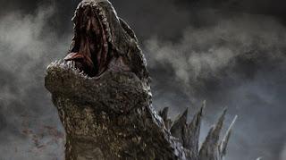 godzilla: el nuevo poster del anime revela el primer vistazo al monstruo