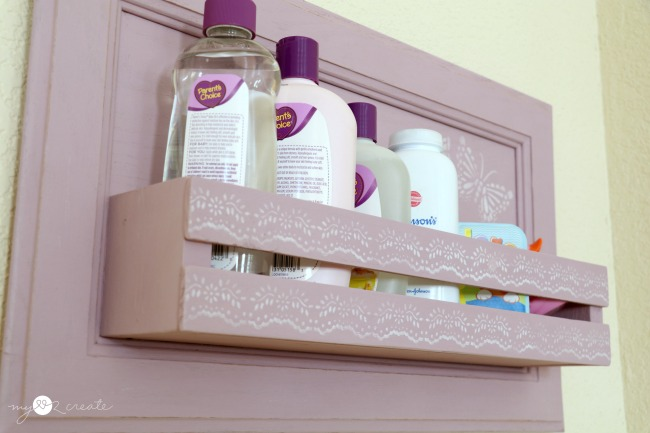 cupboard door into a shelf