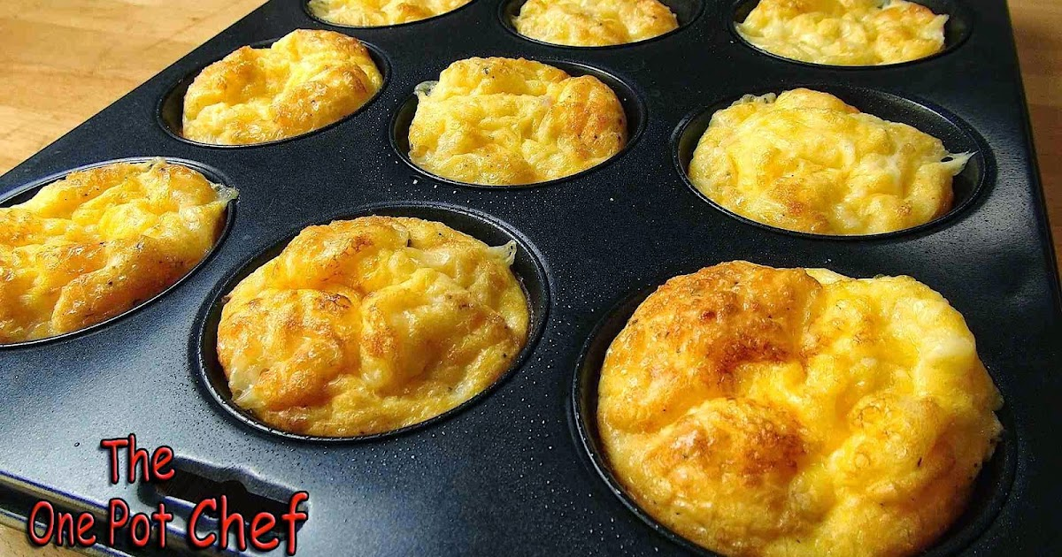 The One Pot Chef Show Oven Baked Mini Omelettes Recipe