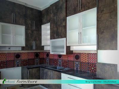 Kitchen set minimalis Cibubur kota wisata