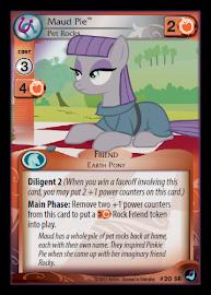 My Little Pony Maud Pie, Pet Rocks High Magic CCG Card