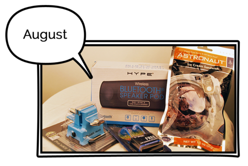 Gizmonthly Subscription Box Review