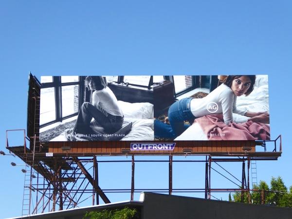 Alexa Chung AG Jeans Fall 2016 billboard